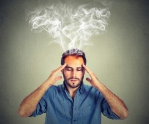 Kopf raucht