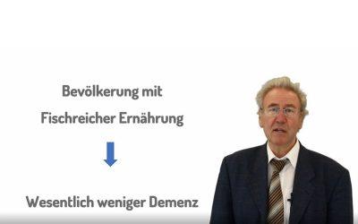 Omega-3-Fettsäuren bei Demenz und Alzheimer
