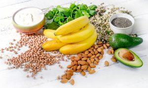 Essen mit hohem Magnesium Gehalt