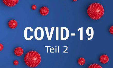 Corona-Virus – Wir kommen nicht daran vorbei 2.Teil