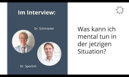 Was kann ich mental für mich tun – Interview mit Dr. Sperlich