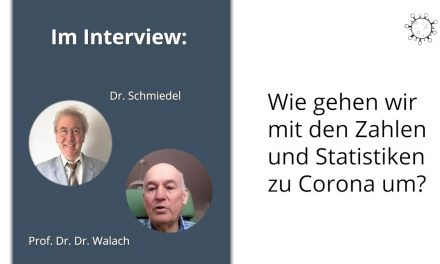 Umgang mit Zahlen & Statistiken zu Corona – Interview mit Prof. Dr. Dr. Walach