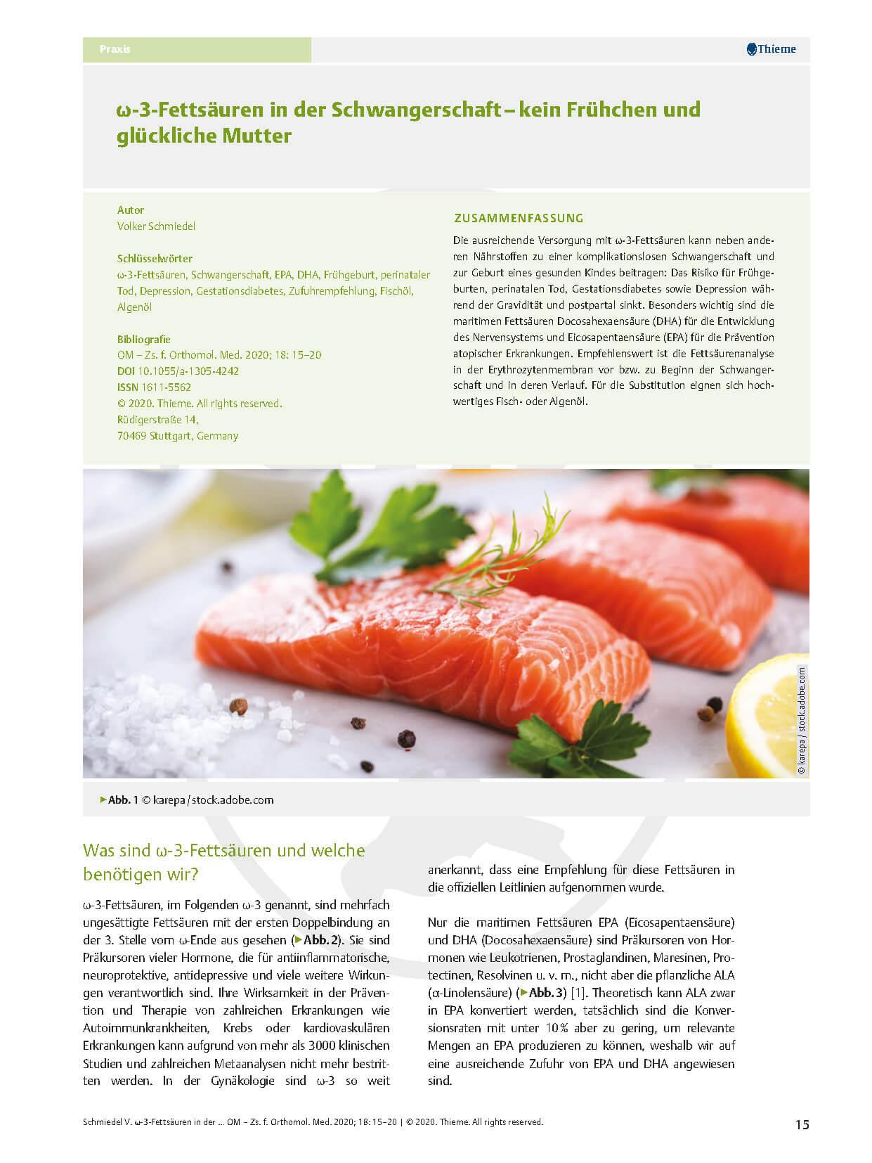 06_Schmiedel_Online-PDF_Omega-3-Fettsäuren in der Schwangerschaft–kein Frühchen_Seite_1-min